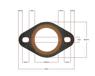 Scooter Moped Universal Flat Strengthened Exhaust Gasket