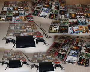 PlayStation 3 avec 25 Games