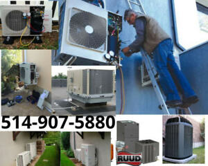 Reparation Climatiseur thermopompe heat pump air climatisé ac