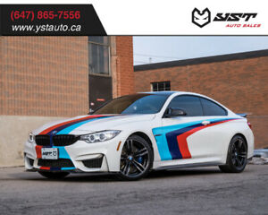 2016 BMW M4 DCT | HUD | Carbon | Camera | Red Leather