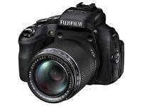 Fuji HS50 EXR Superzoom digital Bridge camera.