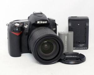 Nikon D90 12.3MP Megapixel DSLR 18-135mm 1:3.5-5.6 G DX $350