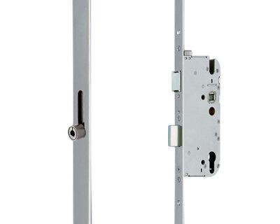 GU Mehrfachverriegelung Secury R4 Rollzapfen Silber 65/92/10/20mm Flachstulp