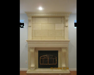 FIREPLACE-BEAUTIFUL FIREPLACE AS YOUR REQUEST-TORONTO-MARKHAM