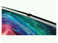 "Samsung 65"" Curved SUHD smart 3D Wi-Fi built in Camera new tv comes in original box with all"