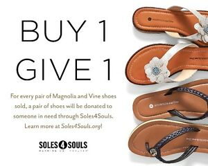 FLIP-FLOPS  Buy1 GIVES 1 to Soles4Souls