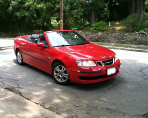Ex.Cond. SAAB 9.3 TURBO Aero Convertible-NO RUST-CERTIFIED FIT