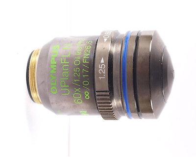 Olympus Uplanfl N 60x Oil Iris Ph3 Phase Contrast Bx Cx Ix Microscope Objective