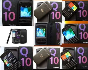 EUC BLACKBERRY Q10 SMART PHONE 16GB  WITH BACKLIT KEYPAD NO CONT