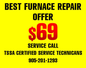 Furnace Repair | $69 Service Call Promotion