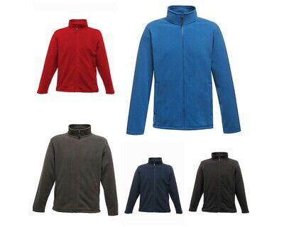 Herren Regatta Full Zip Micro Fleece Top Jacke S M L XL XXL 3XL 4XL TRF557 NEU Full Zip Fleece Top
