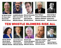 These Ten Whistle Blowers Risked Everything to Bring You Info