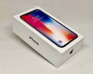Brand New in Box sealed: APPLE IPHON X 64GB SPACE GREY