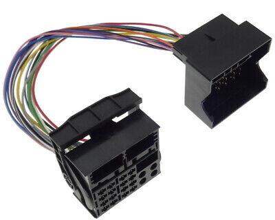 Quadlock Extension 30cm Cable Plug Socket Adapter Most Auto Car Cable Loom