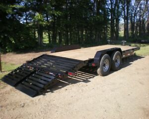 Automan Trailers Has Skid Steer and Car Hauler Trailers on Sale