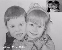 PORTRAIT Artist Taking Orders for Sketches!!
