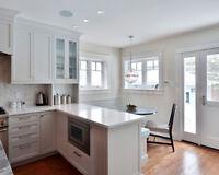 Kitchen Cabinets, Built Ins, Bathroom Vanities