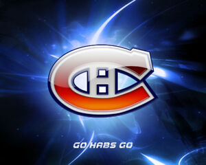 Canadiens vs Red Wings -March 12-Rouge/Reds 103 Range/Row 'G'