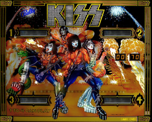 BALLY KISS PINBALL MACHINE in any condition