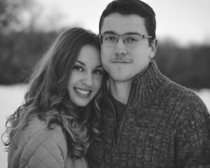 Modern, Professional Couple's Portraits Edmonton