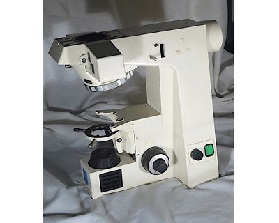 Zeiss Axioskop Reflected Light Microscope Stand With Sextuple Nosepiece
