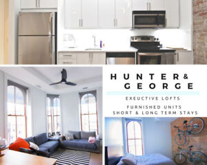 Stunning 2 BDRM Executive Loft | Short & Long Term Stays Avail!