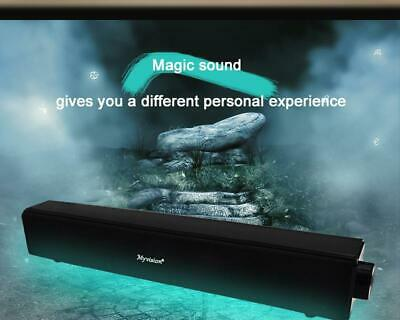 20W Barre De Son Bluetooth Haut-Parleur Soundbar 4000mAh Home Cinema PC
