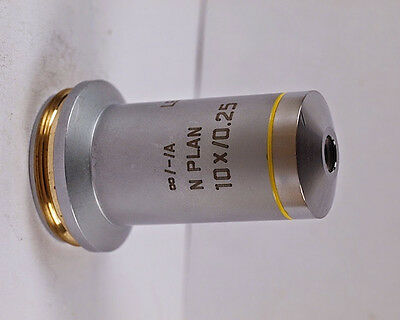 Leica N Plan 10x 0.25 Infinity -a Microscope Objective