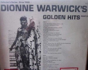 (3) DIONNE WARWICK Vinyl LPs - ALL in EX or Better - 1965 - 1975 Kitchener / Waterloo Kitchener Area image 4