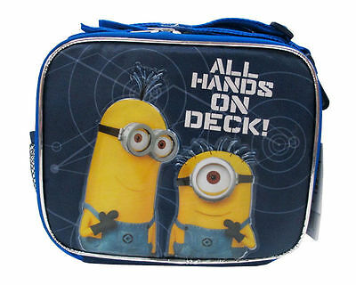 Despicable Me 2 Minion School Lunch Box - All Hands On Deck! - Licensed Product