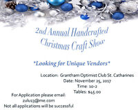 2nd Annual Handcrafted Christmas Craft Show