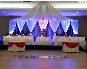 Affordable Weddings Events Decoration Service Calgary Area