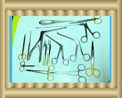 New 12 Arthroscopy Sinoscopy Rhinoscopy Instruments Set Stainless Steel