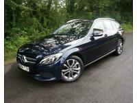 2014(64) MERCEDES C250 2.1 SPORT BLUETEC ESTATE 204 BHP AUTOMATIC DIESEL BLUE