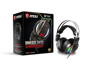MSI Immerse GH70 Gaming Headset - BRAND NEW