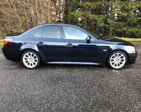 2007 57 BMW 5 SERIES 3.0 525D M SPORT 4D 195 BHP DIESEL