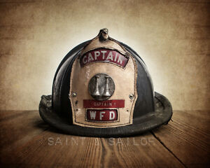 Wanted vintage firefighter gear helemets @ items