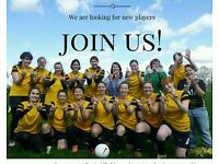WANTED: Womens/ladies 11-a-side players