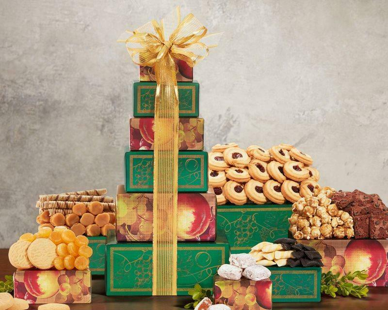 Gourmet Gift Baskets Tower of Sweets by Wine Country Gift Baskets