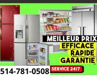 Reparation frigidaire réfrigérateur électroménager frigo fridge