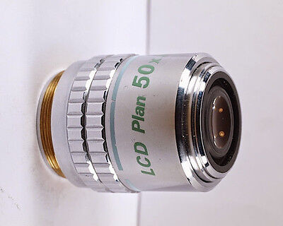 Nikon Lcd Plan 50x 0.55 Elwdinfinity Microscope Objective