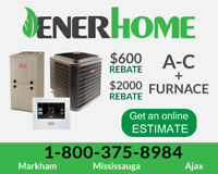 Furnace/AC-Online Estimate: 24-Month 0% Interest- $2600 Rebates