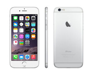 Apple iPhone 6 16GB Silver in Excellent Condition Rogers/Chatr