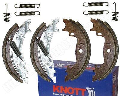 Knott Bremsbelagsatz Bremsbeläge Bremsbacken Satz 160x35mm für Radbremse 16-1365