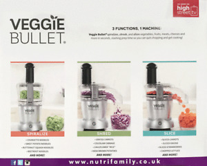 New stainless steel VEGGIE BULLET half the price