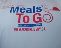 Cash Paid Daily for Delivering Restaurant Food to Their Customer