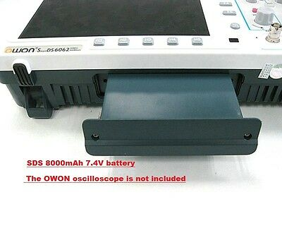 Owon Sds Series Oscilloscope Battery 8000ma7.4v Li-ion Battery 4 Sds Series