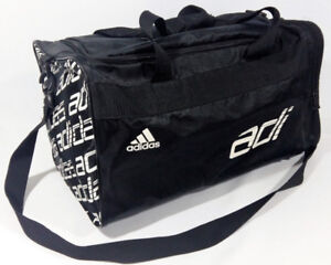 Adidas Sports Duffle Gym Bag Large Bag Three Components Black