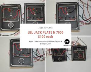 Dj equipment such as Mixing boards,Relay Pack, jack plates