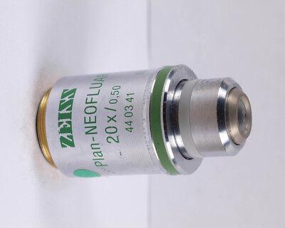 Zeiss Plan-neofluar 20x Ph2 Phase Contrast Microscope Objective